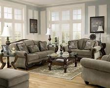 Makonnen Sofa And Loveseat by Ashley Furniture Chenille Sofas Loveseats U0026 Chaises Ebay