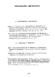 bureau de traduction bruxelles specials bibliografies bibliografias especiais special