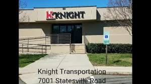 Knight Transportation Charlotte, NC - YouTube