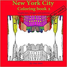 Amazon New York City Coloring Book 2 For Adults Duplicates Designs And Patterns Books Volume 9781534787995 Alex Man Omar Alexander