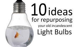 10 ideas for repurposing your incandescent light bulbs