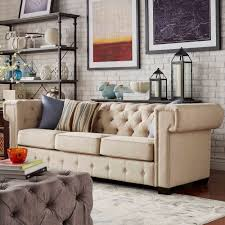 Pottery Barn Chesterfield Grand Sofa by Knightsbridge Tufted Squared Arm Chesterfield Sofa By Signal Hills