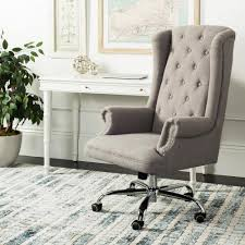 Safavieh Ian Gray/Chrome Linen Swivel Office Chair In 2019 ... 81 Home Depot Office Fniture Nhanghigiabaocom Mesh Seat Office Chair Desing Flash Black Leathermesh Officedesk Chair In 2019 Home Desk Chairs Allanohareco Swivel Hdware Graciastudioco Casual Living Worldwide Recalls Swivel Patio Chairs Due To Simpli Dax Adjustable Executive Computer Torkel Bomstad 0377861 Pe555717 Hamilton Cocoa Leather Top Grain Fabric Wayfair High Back Gray Fabric White Leathergold Frame