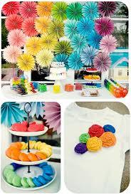 DIY Rainbow Party Full Of Ideas Via Karas KarasPartyIdeas