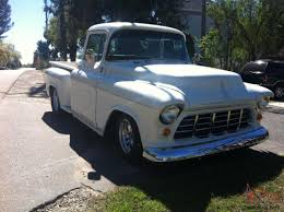 100 1955 Chevy Truck Restoration Short Bed Stepside Big Back Window Pickup