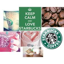 An Art Collage From July 2011 Keep Calm And Love Starbucks