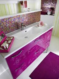 Color For Bathroom Tiles by Contemporary Bathroom Decorating Ideas Bright Purple And Pink