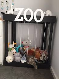 Soft Teddy Zoo Toy Storage Stuffed Animal Timber By TwigMel