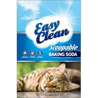 Pestell Pet Products Easy Clean Scoopable Cat Litter with Baking Soda - 20lb