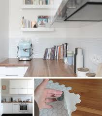 crédence cuisine à coller sur carrelage crédence cuisine en 47 photos idées conseils inspirations