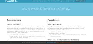 Bitcoin Faucet Rotator Script by What Is Faucetbox Valuebitcoin 1 Bitcoin Faucet Review Site
