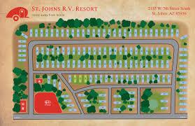 100 Resorts Near Page Az St Johns RV Resort Rates Saint Johns AZ 85936 St Johns