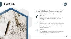 Floor Plan Template Powerpoint by Building Construction Premium Powerpoint Template U2013 Slidestore