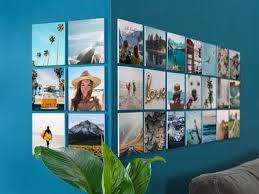squares personalized wall with magnetic wall mount pixum