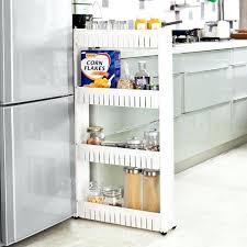 cuisine sur roulettes meuble cuisine sobuyar frg42 w chariot de stockage meuble