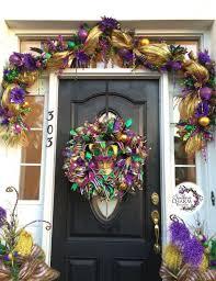 Burlap Mardi Gras Door Decorations by 235 Best Mardi Gras Images On Pinterest Carnivals Mardi Gras