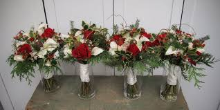 Christmas Trees Vancouver Wa by Christmas Wedding Flowers Chickabloom Floral Studio