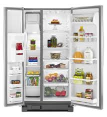 Whirlpool Refrigerator Leaking Water On Floor by Whirlpool Wrs322fdam 33 Inch Side By Side Refrigerator With 21 2