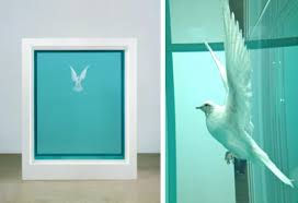 damien hirst at the tate modern state of the