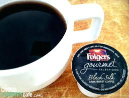 Folgers Black Silk Coffee K Cup Review Gourmet
