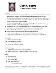 Realtor Job Description For Resume Free Sample Real Estate Samples