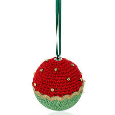 Free Pattern Crochet A Christmas Bauble Pattern Hobbycraft