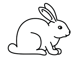 Coloring Pages Bunny Rabbits Sheets Free Printable Rabbit Easter