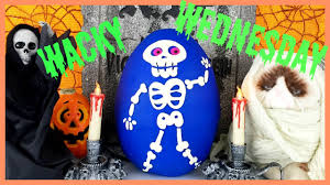 Bad Halloween Candy List by Wacky Skeleton Wednesday Halloween Candy Pooping Monster Blind