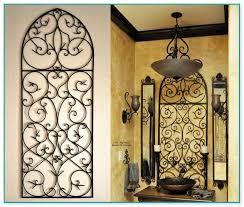 Tuscan Wrought Iron Wall Art