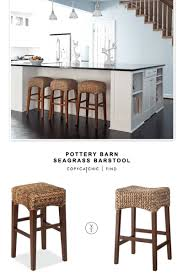 Pottery Barn Seagrass Club Chair by Pottery Barn Seagrass Barstool Copycatchic