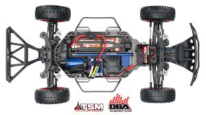 100 Slash Rc Truck 4X4 110 Scale 4WD Electric Short Course With TQi