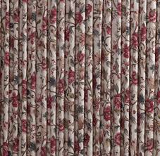 Jacobean Floral Curtain Fabric by Thermal Insulated Drapes Cornwall Floral Drapes Jacobean Multi