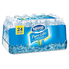 Nestle Pure Life Bottled Purified Water 169 Oz Bottles 24 Case