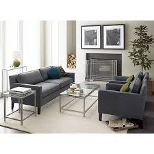 Crate And Barrel Lowe Chair by Era Rectangular Coffee Table In Side Coffee Tables Crate And