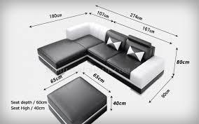 pouf de canapé canapé cuir d angle italien avec pouf offert modèle perla 2