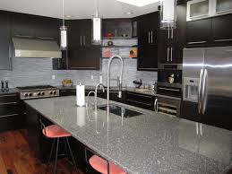 Image Of Ultra Modern Espresso Kitchen Cabinets