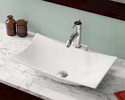Bathroom Faucets For Vessel Sinks Kohler Elegant V240 White Moisey ... From A Floating Vanity To Vessel Sink Your Ideas Guide Stylish And Diverse Bathroom Sinks Oil Dectable Small Mounting Cabinet Led Gorgeous For Elegant Vanities Sets Design White Mini Lowes 12 Inch Wide 13 Valve 16 Guest With Amazing Tiles In Walk Shower And Cabinets Large Unit Wooden Designs Homebase Grey Corner Modern Exotic Pictures Of Bowl Glass Inspiring Diy Netbul Beautiful 47 High End Bathroom Vessel Sinks Made By