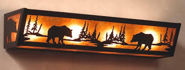 Rustic Cabin Bathroom Lights by Impressive Cabin Vanity Lights Rustic Vanity Lighting Cabin