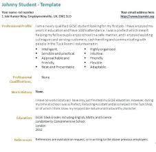 Cover Letter For 1st Job Awesome Resume Template First Sample