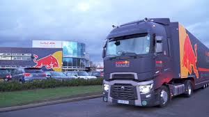Red Bull Racing Trucks. Packed Up And Heading To Formula One's First ...