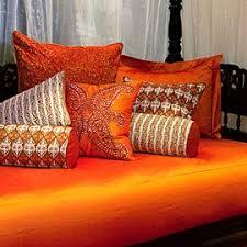 orange forter set