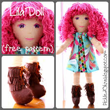 Free Doll Clothes Pattern 18 Inch Doll Tshirt Pattern TREASURIE