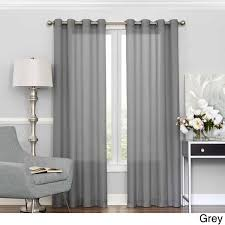 eclipse liberty light filtering sheer curtain panel free