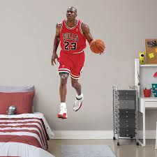 100 Michael Jordan Bedroom Set LifeSize Officially Licensed NBA Removable Wall Decal