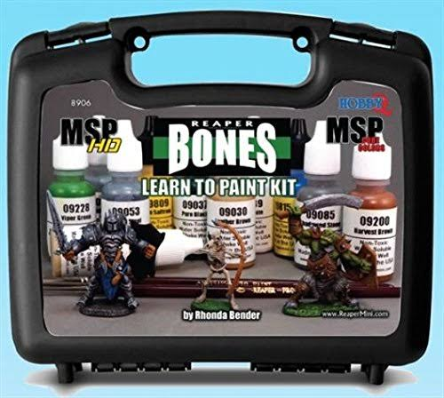 Reaper Miniatures Learn to Paint Bones Kit