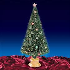 6ft Christmas Tree With Decorations by Fibre Optic Christmas Tree Base Princess Decor