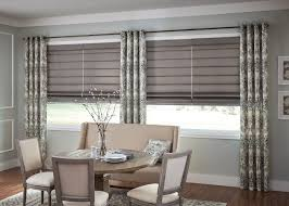 Panel Grommet Top Fabric Pattern Soft Treatment Window Treatments Curtains Drapes Draperies Blinds Dining Room