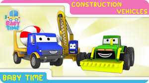 Construction Videos - Learning Construction Vehicles For Kids ...
