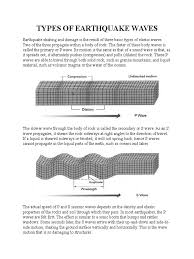 Sea Floor Spreading Worksheet Pdf by Types Of Earthquake Waves Earthquakes Plate Tectonics