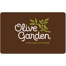 Olive Garden $25 Gift Card Walmart